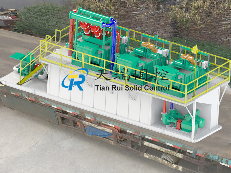 Mud solid control, drilling waste management, HDD trenchless system, mud recycling system