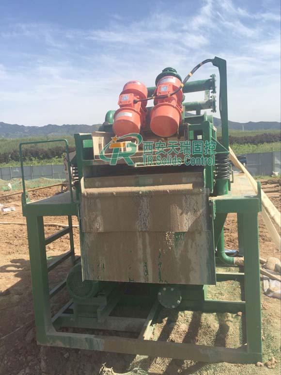 Good performance desander, TR piling desander, mud desander, drilling fluid desander, desanding plant