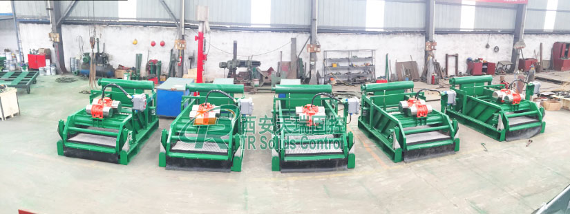 TR drying shaker, linear shale shaker, drilling fluid shale shaker, shale shaker for HDD