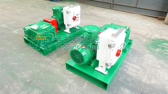 Horizontal mud agitator, mud agitator for oil and gas drilling, direct-connected mud agitator
