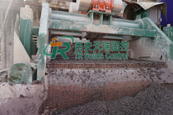 Shale shaker for HDD mud recovery system, customized shale shaker, good service shaker
