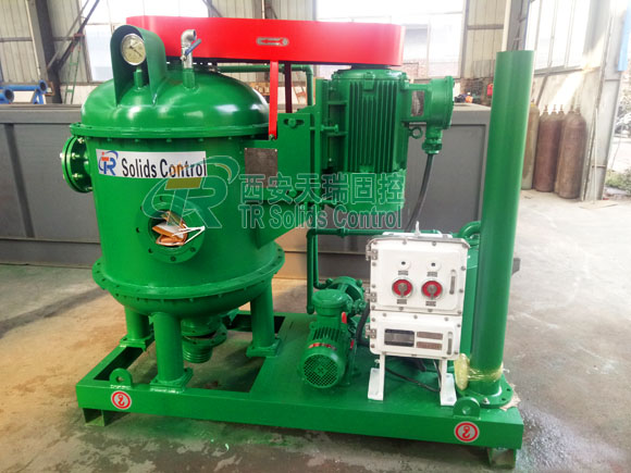 Vacuum degasser for oil & gas drilling, HDD vacuum degasser, top quality vacuum degasser