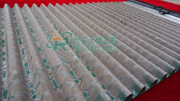 API standard shaker screen, oil drilling shaker screen, Pyramid shaker screen