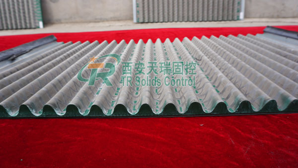Mud solids control shaker screen, pyramid shaker screen, top quality shaker screen