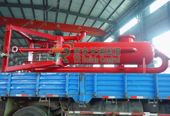 Good price mud gas separator, high efficiency mud gas separator