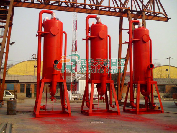 Mud gas separator for oil & gas drilling, top quality liquid gas separator