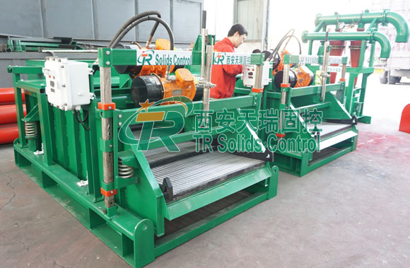Linear shale shaker for HDD, TRZS series shale shaker, Drying shaker