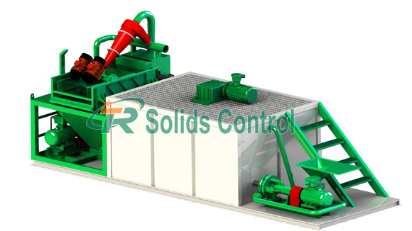 Factory price bored pile desanding plant, desanding system for sale