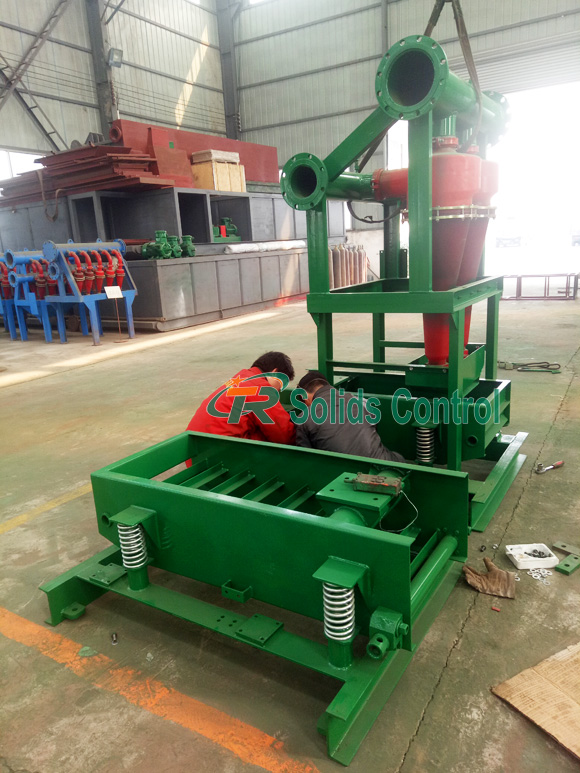 Mud desander for sale, high quality mud desander, drilling desander manufacturer