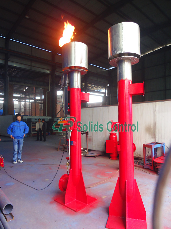 Drilling flare ignition device, high standard flare ignition device