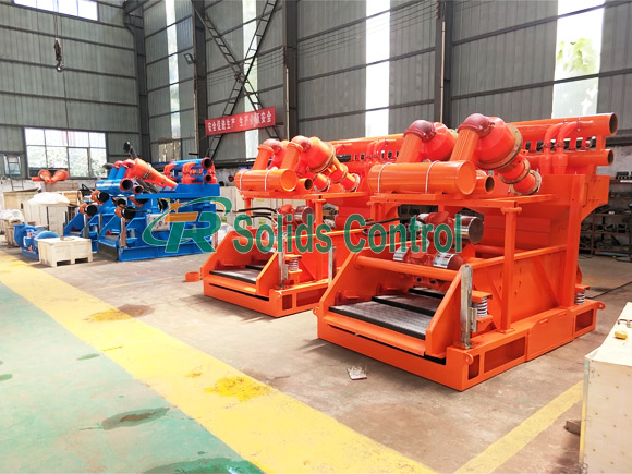 Mud cleaning equipment, good price mud cleaner for sale