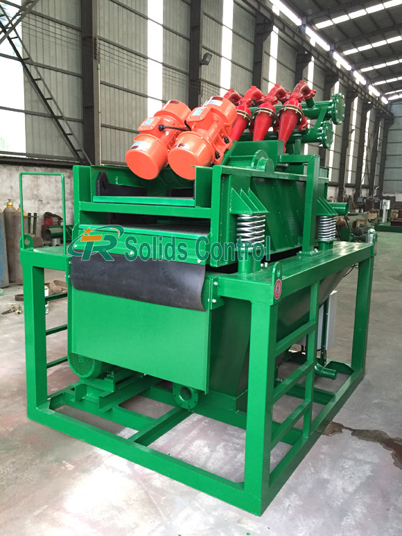 Piling desilter plant, good quality mud desilter, China desilter supplier