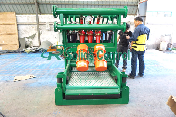 High quality mud desilter, solid control desilter