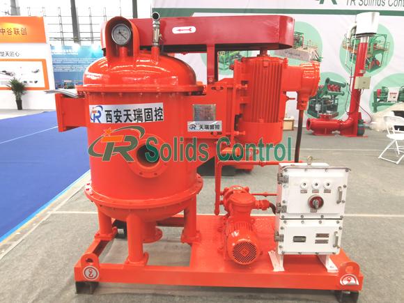 Vacuum degasser for oil & gas drilling, drilling vacuum degasser