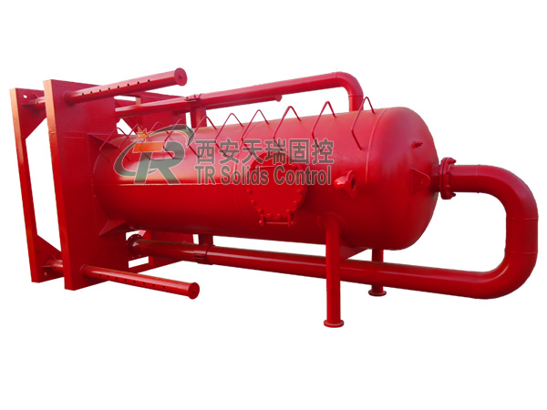 Mud gas separator for oil & gas drilling, high quality mud gas separator