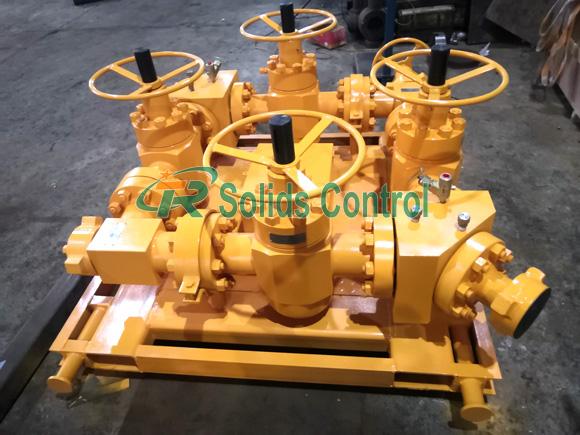 High quality choke manifold, API standard drilling choke manifold