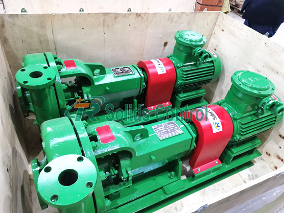 Centrifugal pump for oil and gas drilling, large capacity centrifugal pump