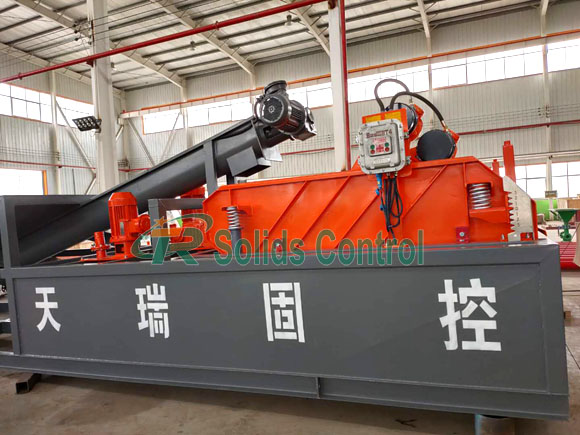 China mud system supplier, good performance mud cleaning system