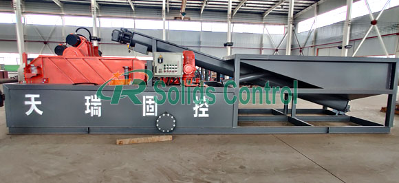 Oil sludge treatment system, mud recycling system for sale