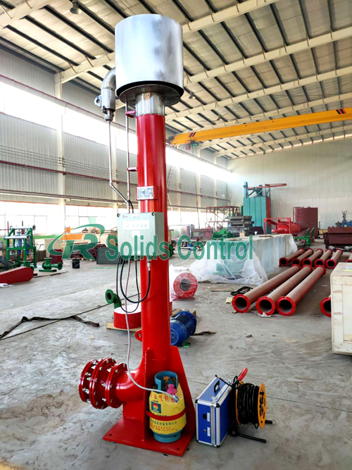 Flare ignition device for oil drilling, API flare ignition device