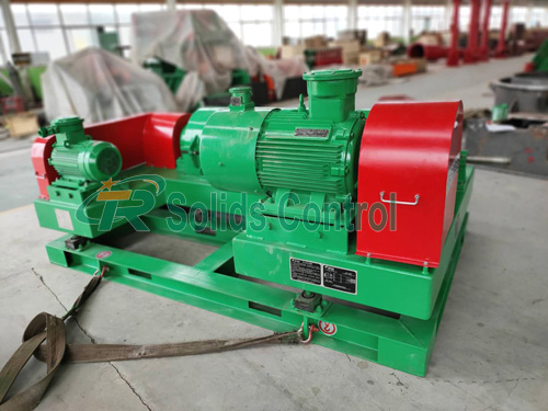 Solid control decanter centrifuge, high speed mud centrifuge