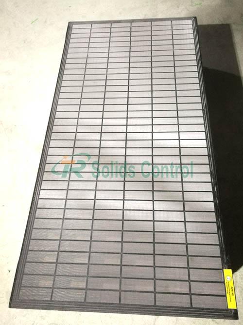 Composite shaker screen, drilling shaker screens