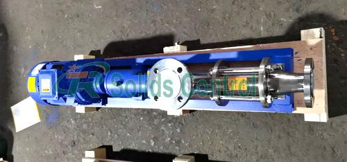 Centrifuge feeding screw pump, API standard screw pump