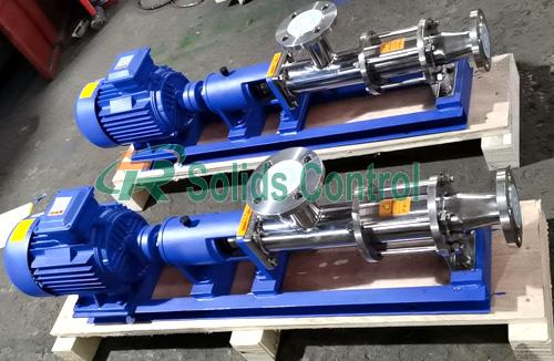 Solid control screw pump, drilling fluid screw pump