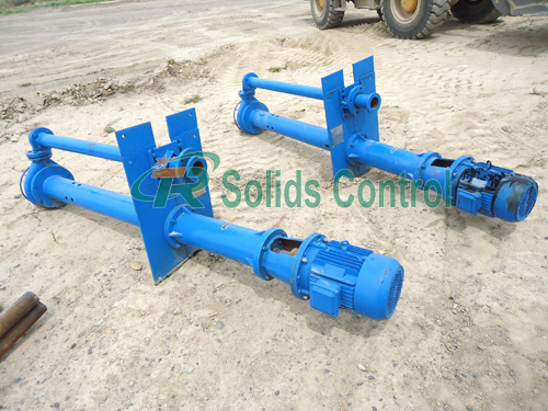Submersible slurry pump, drilling fluid submersible pump