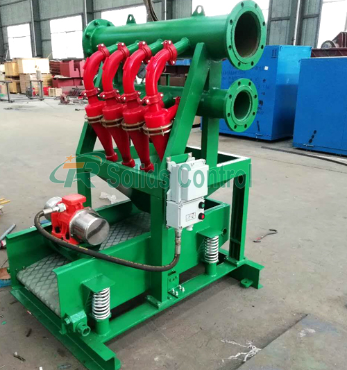 Solid control mud desilter, drilling fluid mud desilter