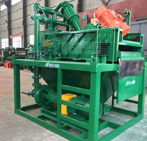 Bored Pile Desanding Plant, high performance desanding plant