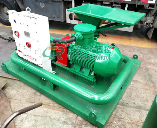 Jet mud mixer for oil gas drilling, large capacity jet mud mixer