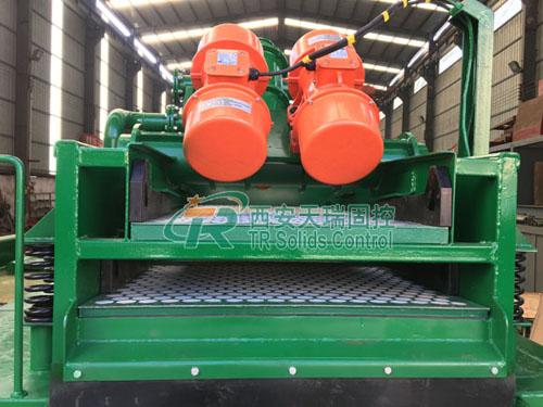 Large capacity desanding plant, high performance desanding plant
