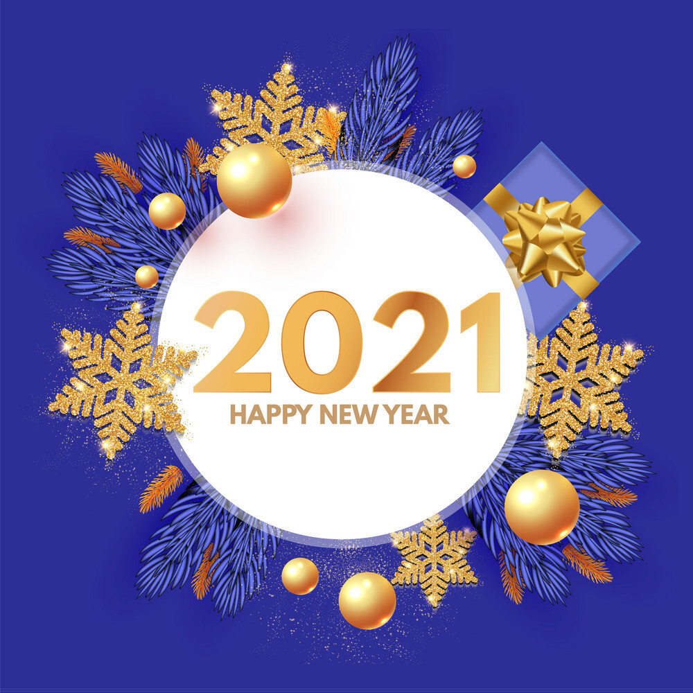 Wish all of you happiness and prosperity in new year 2021!