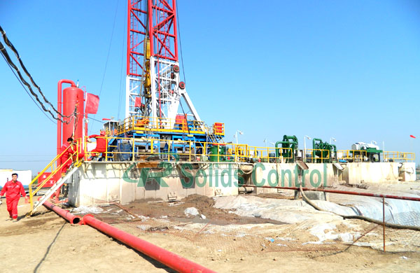 Drilling solid control system, mud recycling system