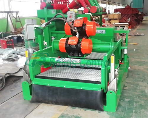 Drilling fluid shale shaker, solid control mud shale shaker