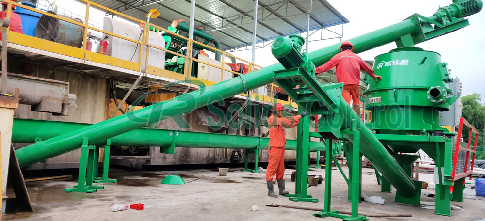 Oil-based drilling waste management, drilling cuttings treatment