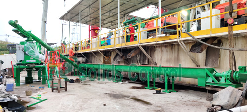 Easy operation drilling waste management, API drilling waste management