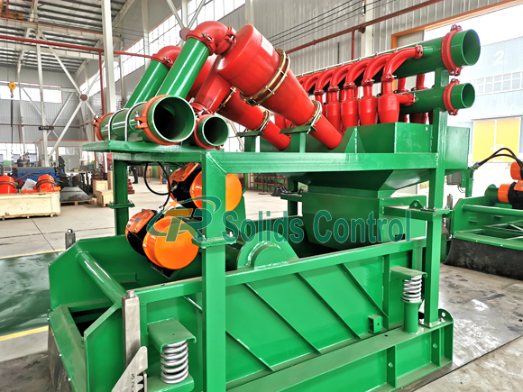 Mud cleaner for oil and gas, drilling fluid mud cleaner