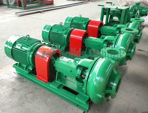 Solid control centrifugal pump, feeding centrifugal pump