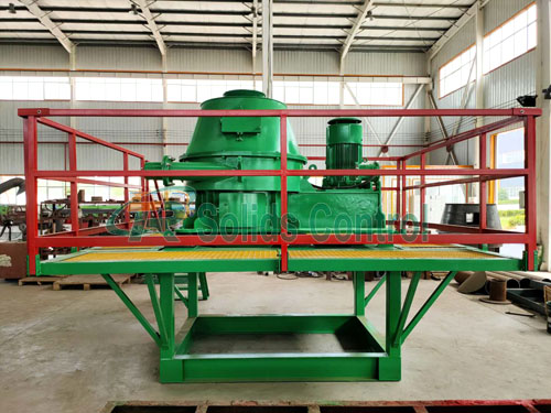 TRCD730 vertical cutting dryer, large capacity vertical cutting dryer