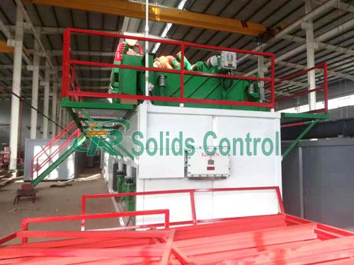 ZJ30 mud circulating system, solid control mud system