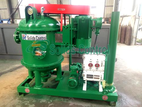Vacuum degasser for oilfield, TRZCQ270 vacuum degasser