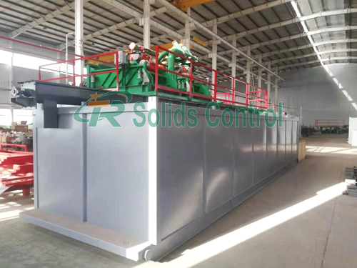 Good performance mus recycling system, ZJ30 solid control system