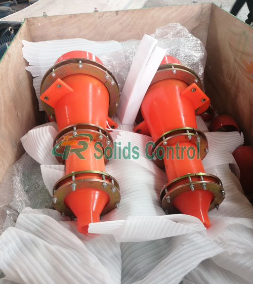 "Spare parts for mud desander, 12"" desander cyclone"