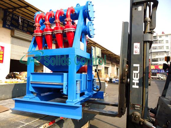 TRCN100-4N mud desilter, drilling fluid mud desilter