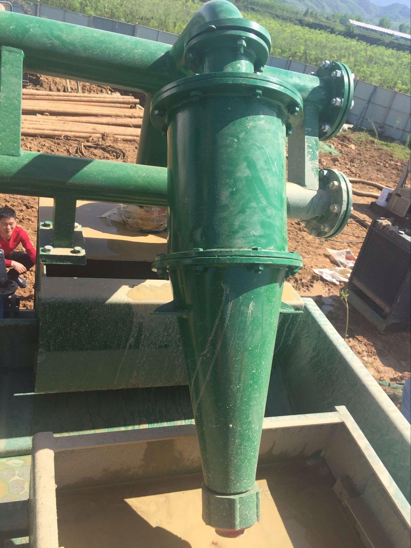 Desanding plant for drilling, oilfield mud desander