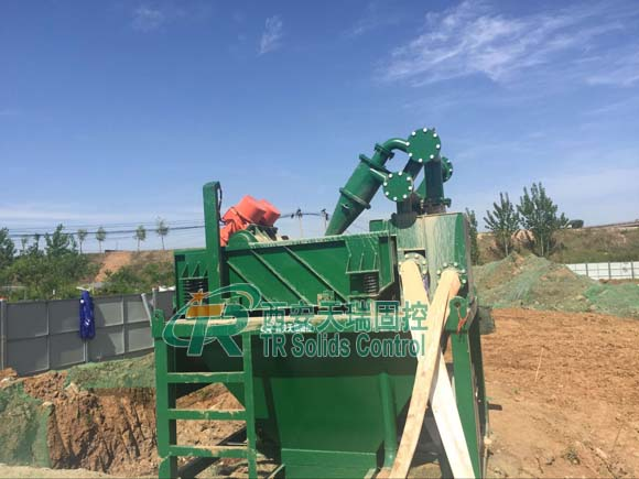 TRZX-60/45 mud desander system