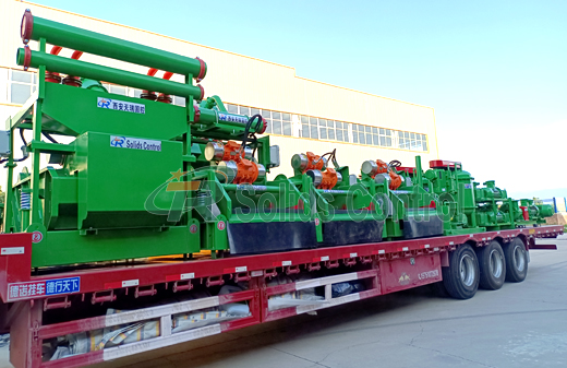 ZJ30 Solids Control System Delivery