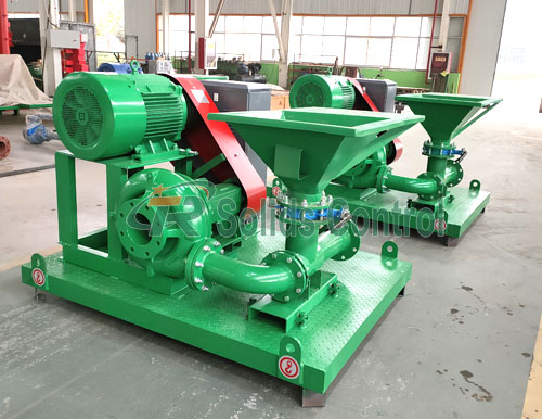 Jet mud mixer for oil and gas, drilling fluid jet mud mixer